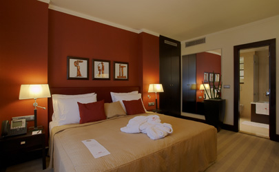 izby junior suites na každom poschodi su luxusne zariadene ponukaju ...